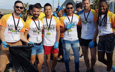Mr. Gay World Competition Week Day 3: Brush clearing, bygone days and beach bodies