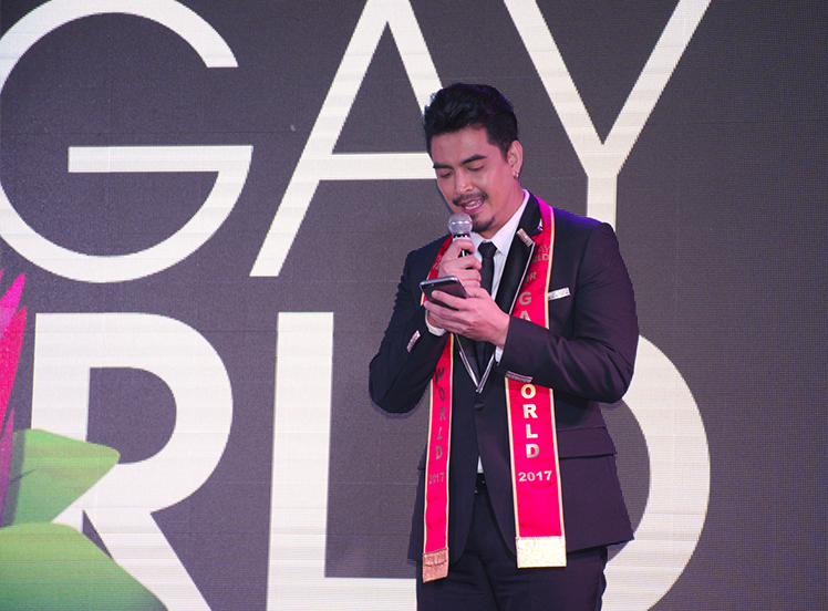 Mr. Gay World Competition Week Day 1: Fauna and Facebook